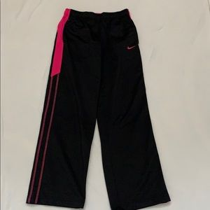 Girl's Nike joggers Large